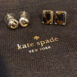 Kate Spade stud earring bundle